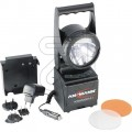 ACCU HANDSCHIJWERPER 5W XENON EN 1W LUXEON-LED EN OPLADERPOWERLIGHT 5.1