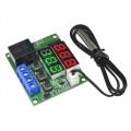 DIGITALE LED THERMOSTAAT MET EXTERNE SENSOR -50C/+110C 5VDC