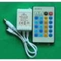 1 KANAALS LED CONTROLLER MET AFSTANDBEDIENING 12VDC/24VDC 6A